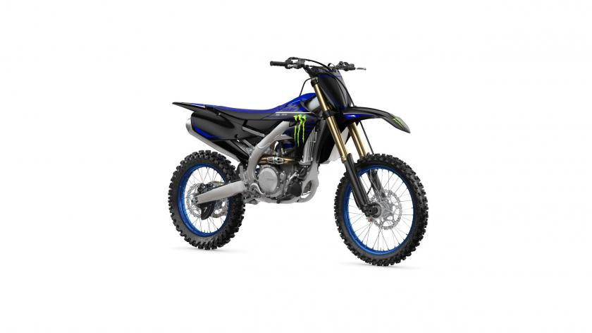 La Yamaha YZ450F 2021 Monster Energy Yamaha Racing Edition